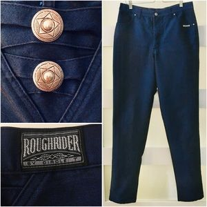 Vtg Roughrider Circle T Hi-Rise Jeans